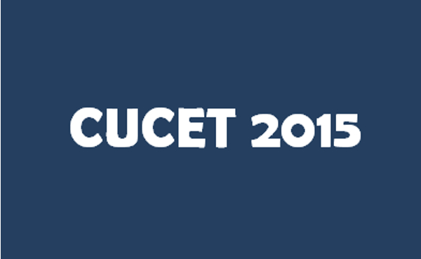 CUCET 2015 Admission Application Exam Date