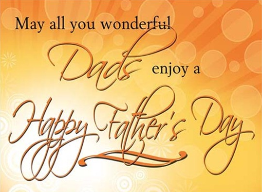 Happy Fathers Day Inspirational Greetings Status SMS