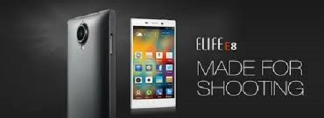 Gionee Elife E8 24 Mp camera Specifications, Price
