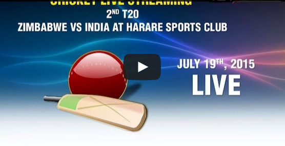2nd Twenty 20 T20 Match India Vs Zimbabwe Live Score Board 2015