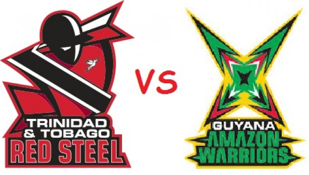 CPLT20 2015 GAW vs TTR Semi Final 2 Match 32 Live Score