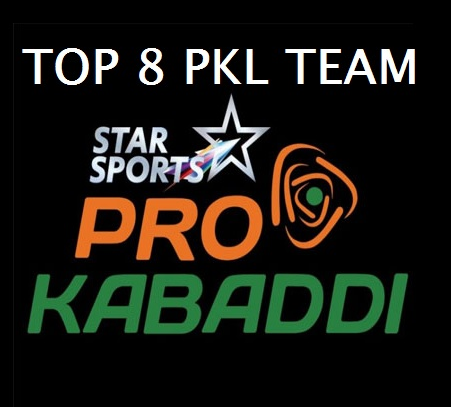 Pro Kabaddi 2015 League Table Points on 26th July