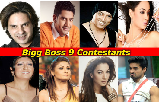 Bigg Boss 9 2015 Start Date, Theme, Host name and Contestants List
