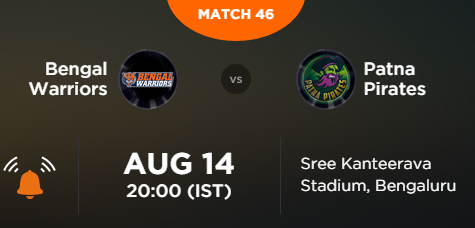 Pro Kabaddi 2015 Kolkata vs Patna Match Highlights Result Score