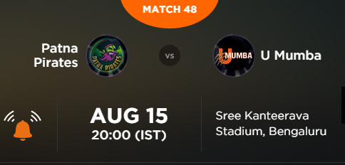 Pro Kabaddi 2015 Patna vs Mumbai Match Highlights Result Score