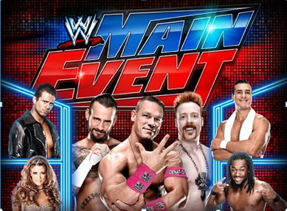 WWE : Main Event 2015 Live Battle 13th August Details
