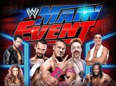 WWE : Main Event 20th August 2015 Match