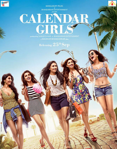 Calendar Girls 2015 First Week Monday 4th Day Box Office Collection