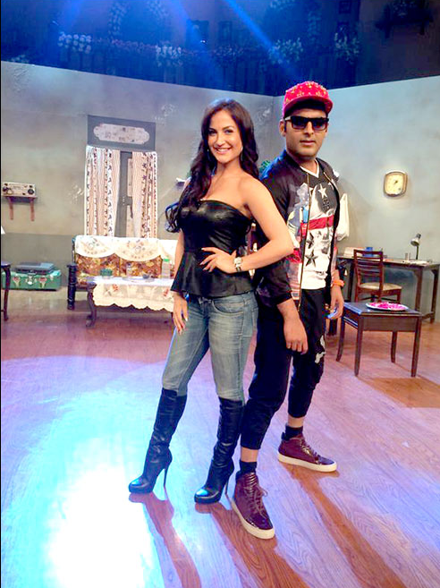 Elli Avram in CNWK Comedy Nights With Kapil 20th Sep Full Episode 177 Show