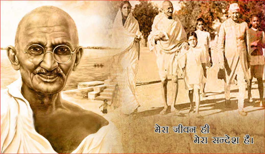 Gandhi Jayanti 2nd October One Single Line Fb Whatsapp Twitter Status