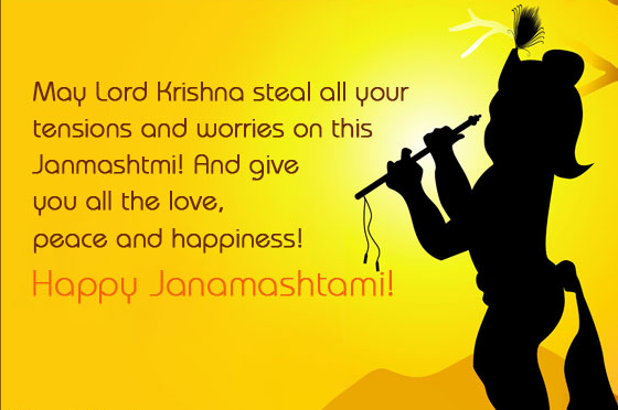 Happy Krishan Janmashtami 2015 Fb Twitter Whatsapp Status Wishes in Hindi English