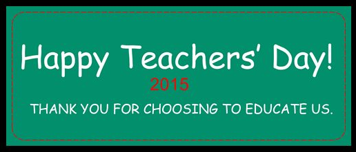 Happy Teachers Day 5th September Quotes and Messages