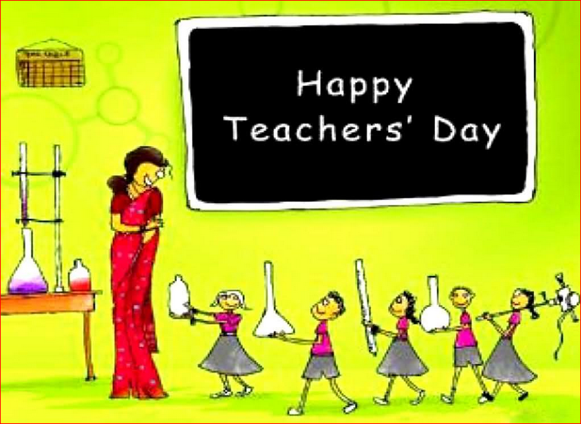 Happy Teachers Day Hindi Font Shayari SMS Message Wishes