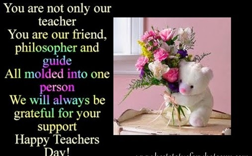 Happy Teachers Day Motivational Quotes SMS Messages