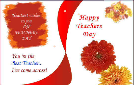 Happy Teachers Day Wishes SMS Messages in English