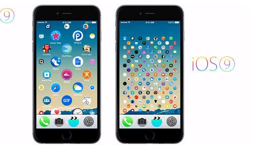 IOS 9 Features Updates for Apple iphone