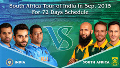 India vs South Africa Series  2015 : India vs South Africa 2015 upcoming series Schedule
