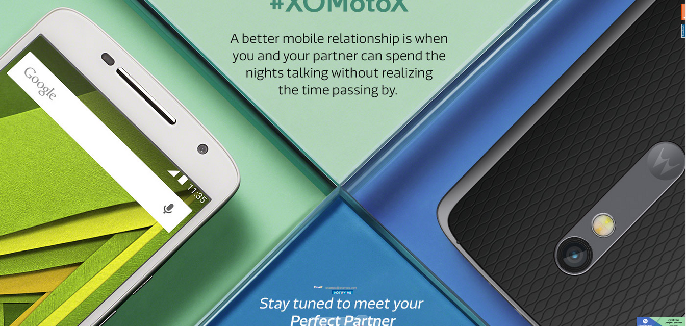 Motorola Moto X Play Launch Today in India on Flipkart Pre Order Book Now 1