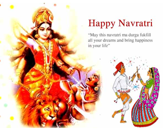 Navratri 2015 Navratri October 2015 dates Puja timings Colors