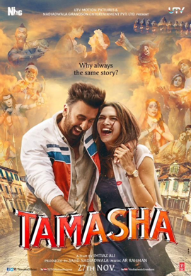 Ranbir Kapoor Tamasha Movie 2015 Week Tuesday 5th Day Box Office Collection