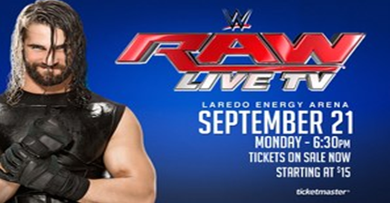 WWE News : WWE Raw Live on 21st September 2015 News