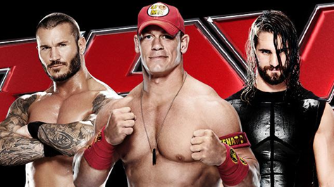 WWE  WWE Raw 2015 Matches