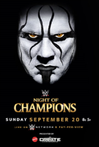 WWE Night of Champions 20th September 2015 Match Details
