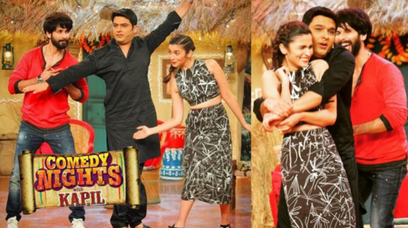 Alia Bhatt Shahid Kapoor in CNWK Comedy Nights With Kapil 18th Oct Full Episode Show HD video
