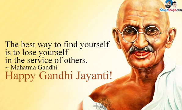 Gandhi Jayanti 2nd October Punjabi Speech Poem Essay Status FB Whatsapp Twitter