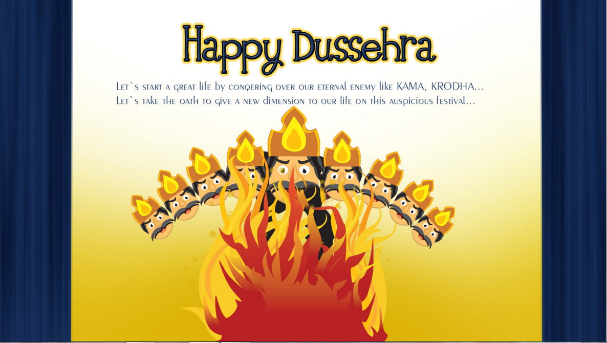 Happy Dussehra Navratri 2015 Best Greetings Card Images Wallpapers 6