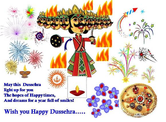 Happy Dussehra Navratri 2015 Best Greetings Card Images Wallpapers 7