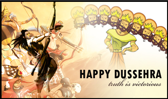 Happy Dussehra Navratri 2015 Best Unqiue Ram Ravan Images Wallpapers 2