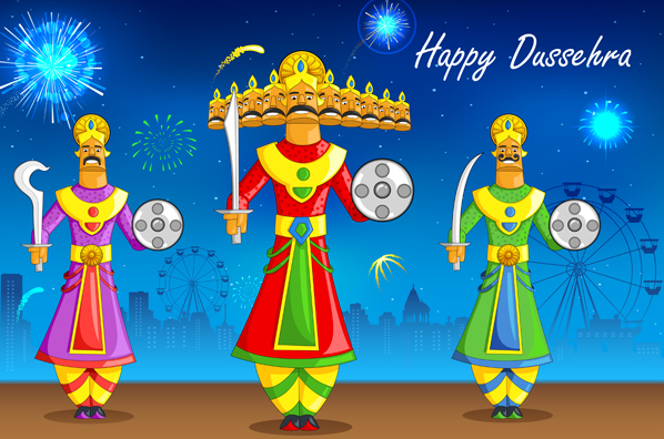 Happy Dussehra Navratri 2015 Best Unqiue Ram Ravan Images Wallpapers 3