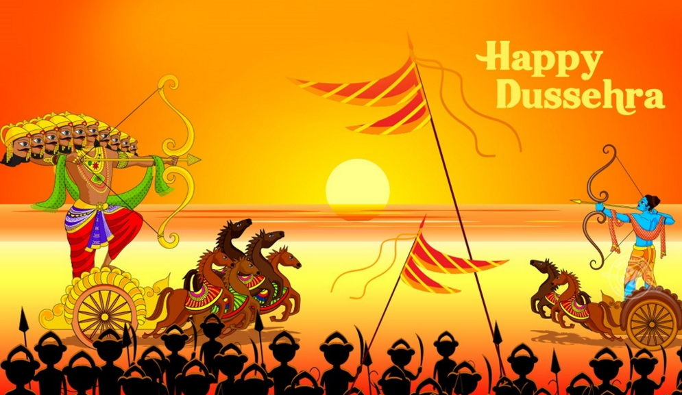 Happy Dussehra Navratri 2015 Best Unqiue Ram Ravan Images Wallpapers 5