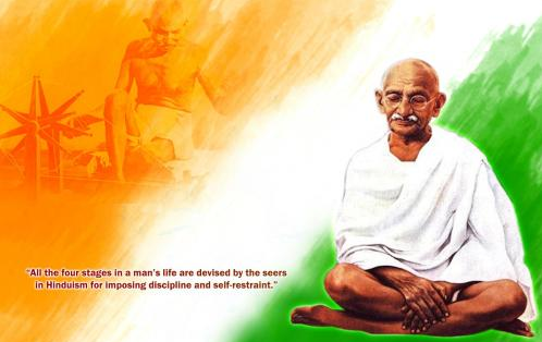Happy Gandhi Jayanti 2nd October Urdu Quotes, Wishes, SMS, Messages, Greetings