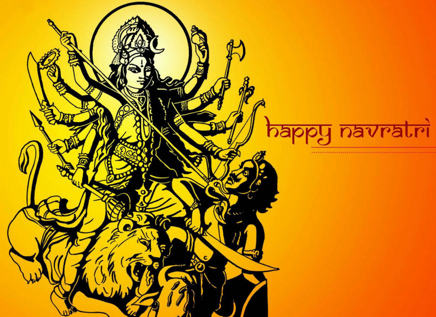 Navratri  2015 Wishes Messages Quotes Status in Bengali