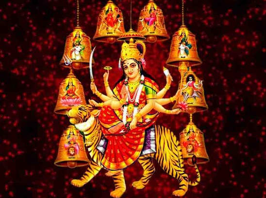 Happy Navratri Jai Mata Di Devi Wishes Animated Images Wallpapers 1
