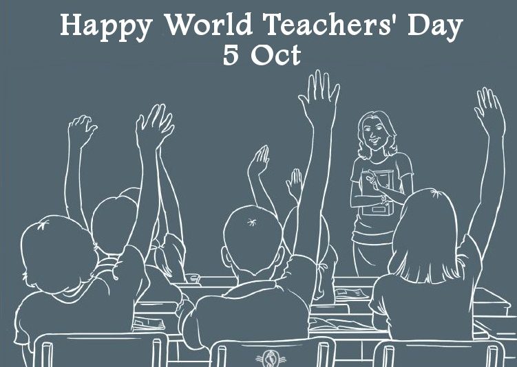 Happy World Teachers Day Wishes SMS Messages in English