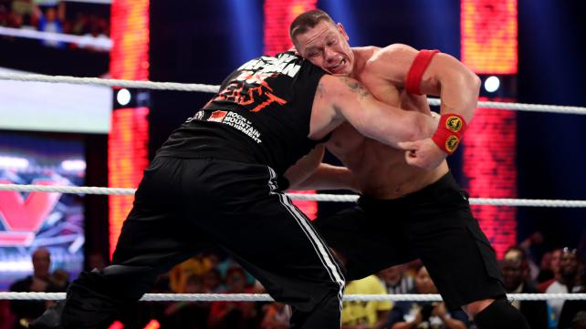 WWE Action Mania on 18th October 2015 on Zee Cinema in Hindi Match Details