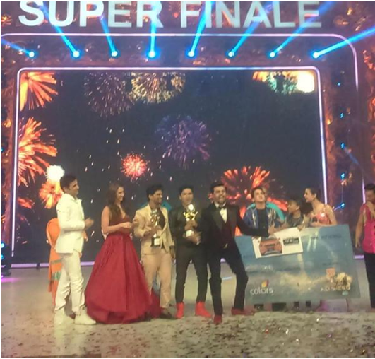 "Grand Finale Result : Jhalak Dikhlaa Ja 8 Reloaded "" Grand Finale ""  Winner Faisal Khan"