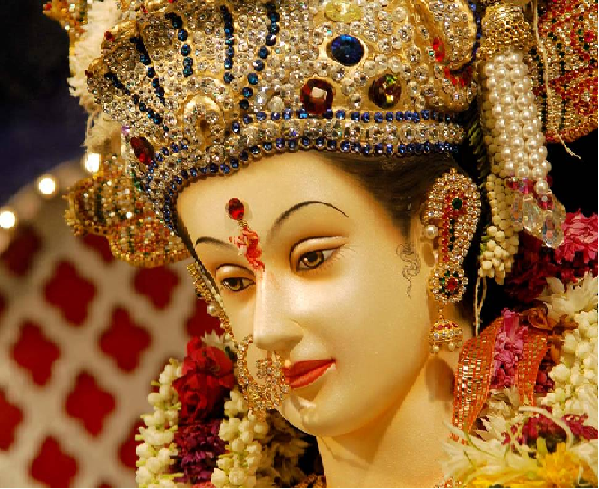 Navratri 2015 : Navratri 16th October 2015 Fourth Day Puja timings Fasting Vrat Food & Colors