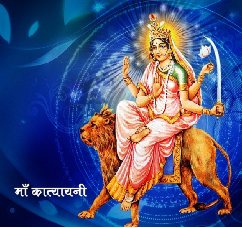 Navratri 2015 : Navratri 18th October 2015 Sixth Day Puja Timings Fasting Vrat Food & Colors
