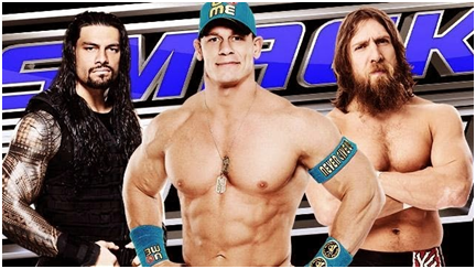 WWE Smack Down 27th  November 2015 match details complete Schedule
