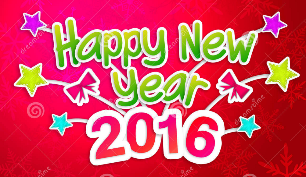 Happy New Year 2016 Phrases Greetings Wishes