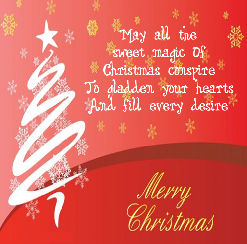 Merry Christmas Happy Xmas 2015 Facebook Whatsapp Status Wishes in Hindi English