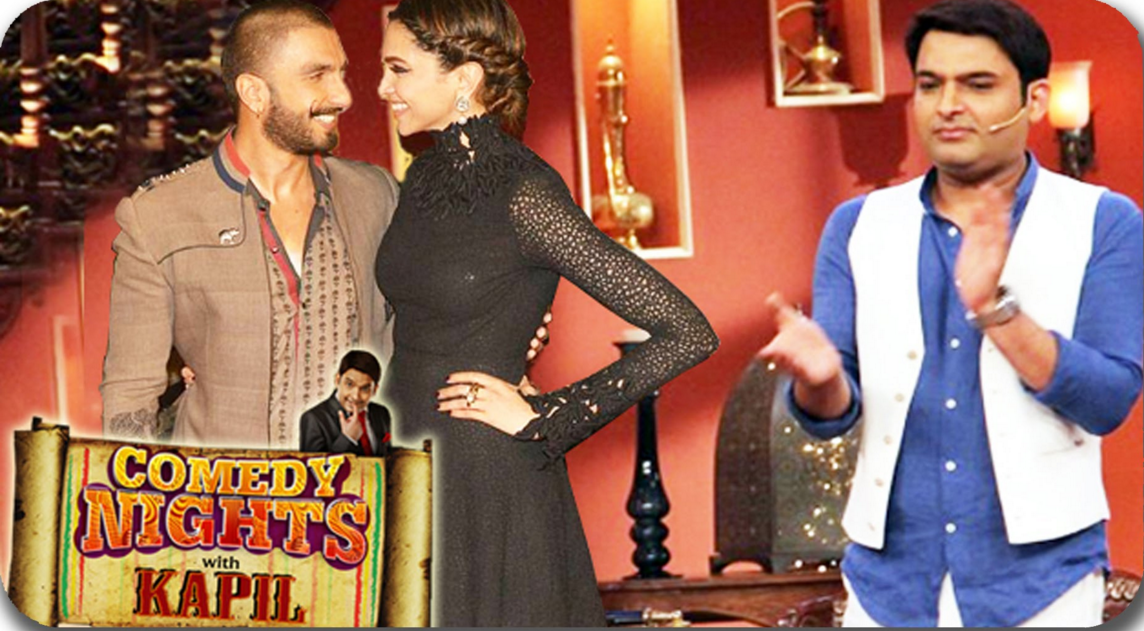 Ranveer Singh Deepika Padukone Bajirao in CNWK Comedy Nights With Kapil 13th December Full Episode Show HD video