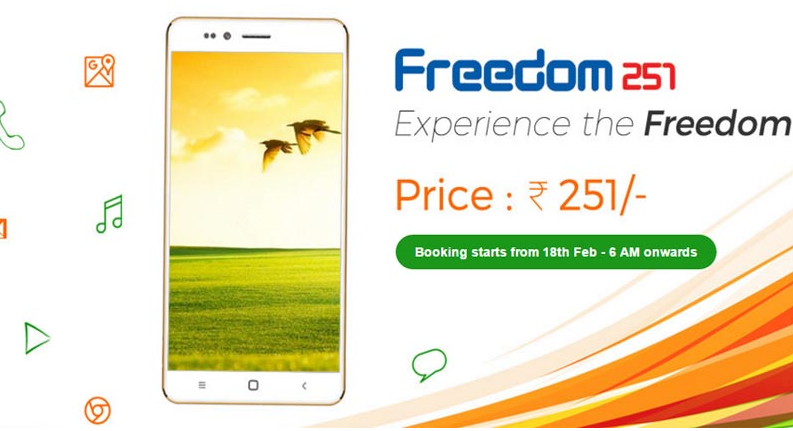 Freedom 251 Smartphone Online Booking Cheats And Tricks