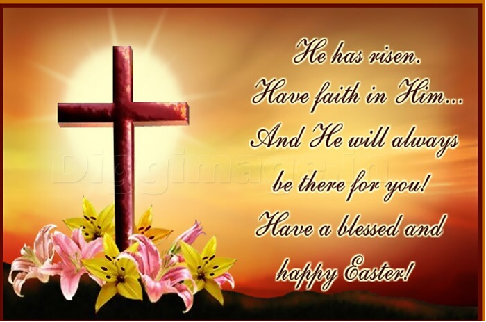 Happy Festival of Easter Wishes SMS Status for Friends Family