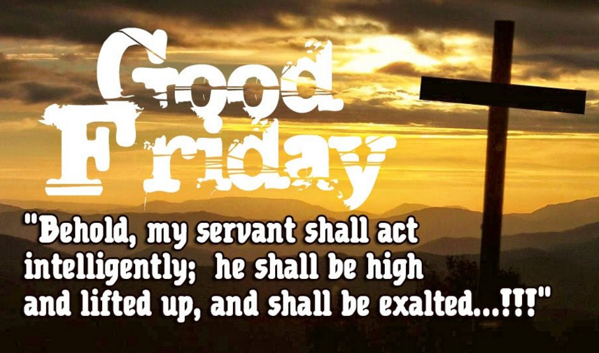 Happy Good Friday Quote SMS Message Wishes