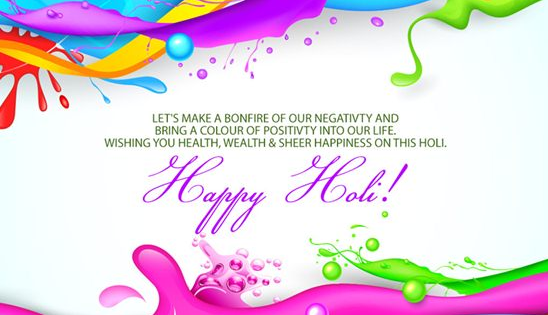 Happy Holi Messages Wishes Quotes in Hindi English